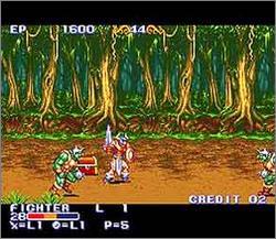 Pantallazo del juego online King of Dragons (Snes)