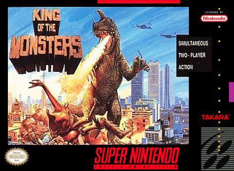Portada de la descarga de King of the Monsters