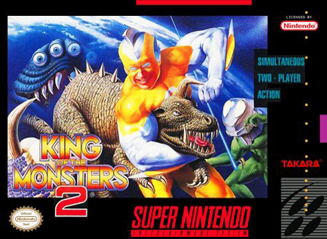 Carátula del juego King of the Monsters 2 (Snes)