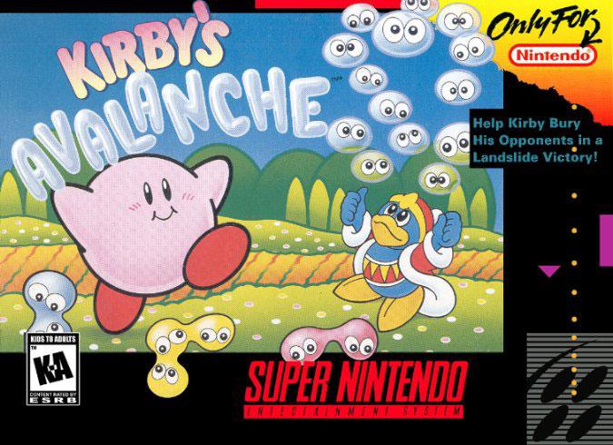 Carátula del juego Kirby's Avalanche (Snes)