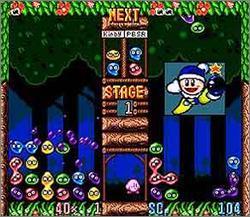 Pantallazo del juego online Kirby's Avalanche (Snes)