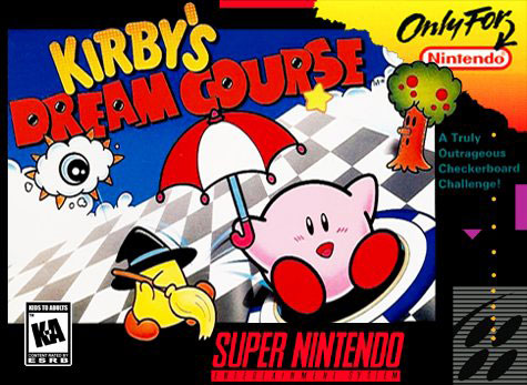 Portada de la descarga de Kirby's Dream Course
