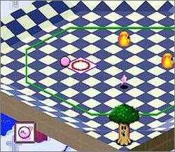 Pantallazo del juego online Kirby's Dream Course (Snes)