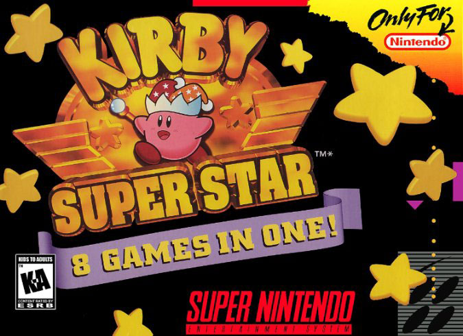 Portada de la descarga de Kirby Super Star