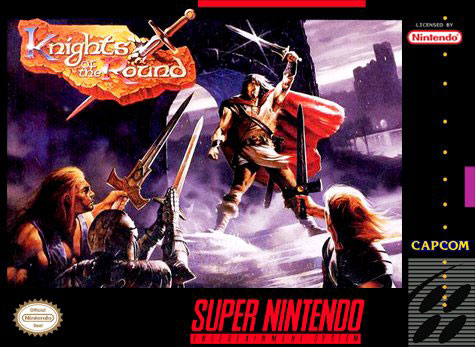 Carátula del juego Knights of the Round (Snes)