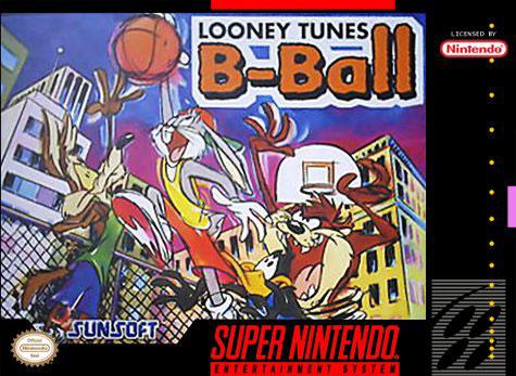 Carátula del juego Looney Tunes B-Ball (Snes)