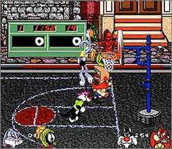 Pantallazo del juego online Looney Tunes B-Ball (Snes)