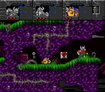 Pantallazo del juego online The Lost Vikings 2 (Snes)