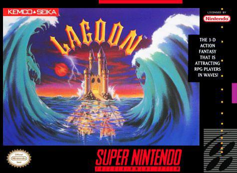 Carátula del juego Lagoon (Snes)
