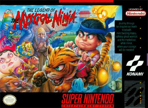 Portada de la descarga de Legend of the Mystical Ninja