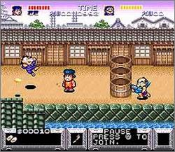 Pantallazo del juego online Legend of the Mystical Ninja (Snes)
