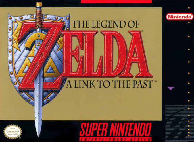 Carátula del juego The Legend of Zelda - A Link to the Past (Snes)