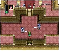 Pantallazo del juego online The Legend of Zelda - A Link to the Past (Snes)