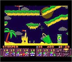 Pantallazo del juego online Lemmings 2 - The Tribes (Snes)