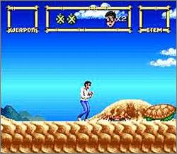 Pantallazo del juego online Lester the Unlikely (Snes)