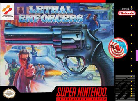 Carátula del juego Lethal Enforcers (Snes)