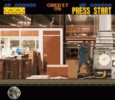 Pantallazo del juego online Lethal Enforcers (Snes)