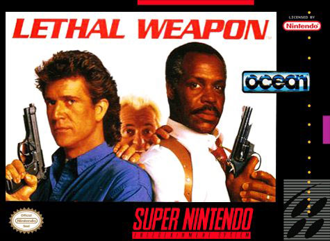 Carátula del juego Lethal Weapon (Snes)