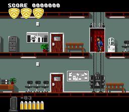 Pantallazo del juego online Lethal Weapon (Snes)