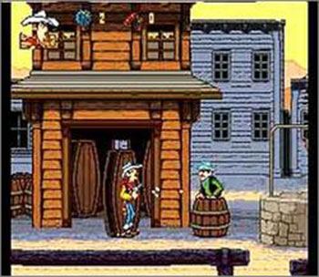 Pantallazo del juego online Lucky Luke (SNES)