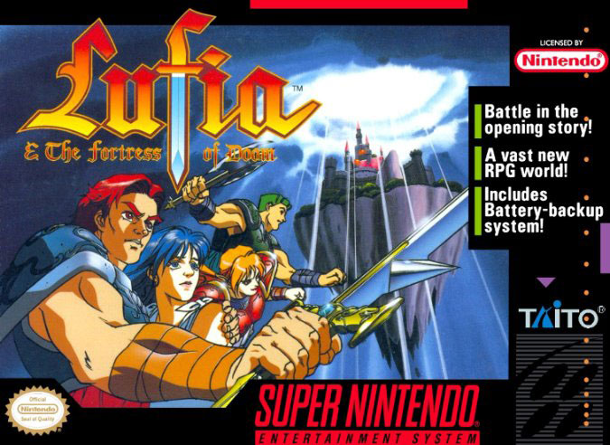 Portada de la descarga de Lufia & The Fortress of Doom