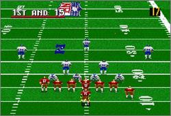 Pantallazo del juego online Madden NFL 96 (Snes)