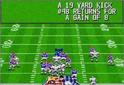 Pantallazo del juego online Madden NFL '94 (Snes)