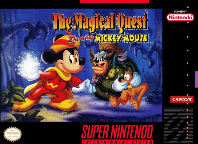 Carátula del juego The Magical Quest starring Mickey Mouse (Snes)
