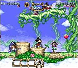 Pantallazo del juego online The Magical Quest starring Mickey Mouse (Snes)
