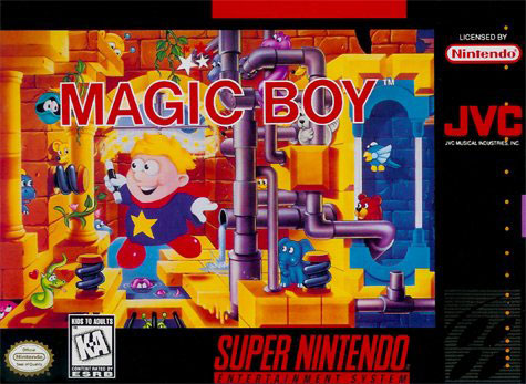 Carátula del juego Magic Boy (Snes)