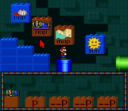 Pantallazo del juego online Mario's Early Years Fun with Letters (Snes)
