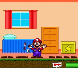 Pantallazo del juego online Mario's Early Years Fun With Numbers (Snes)