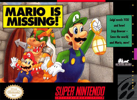 Portada de la descarga de Mario is Missing