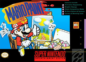 Juego online Mario Paint (SNES)