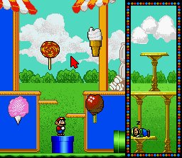 Pantallazo del juego online Mario's Early Years - Preschool Fun (Snes)