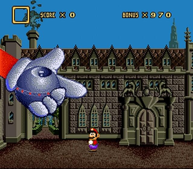 Pantallazo del juego online Mario's Time Machine (Snes)
