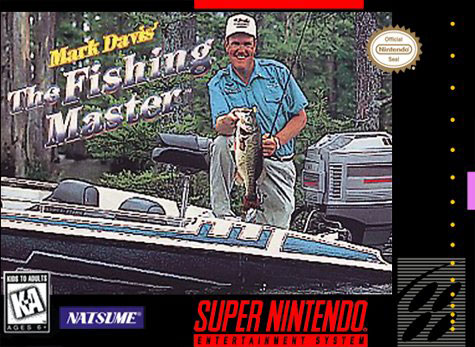 Carátula del juego Mark Davis' The Fishing Master (Snes)