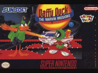 Carátula del juego Daffy Duck - The Marvin Missions (Snes)