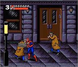 Pantallazo del juego online Maximum Carnage (Snes)