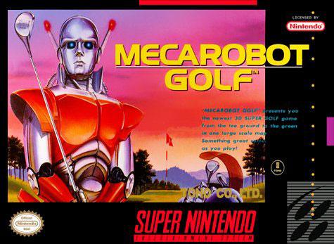 Carátula del juego Mecarobot Golf (Snes)