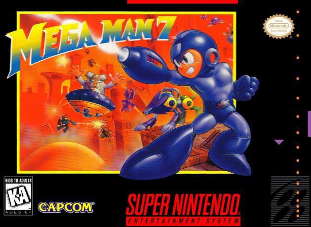 Carátula del juego Mega Man 7 (Snes)