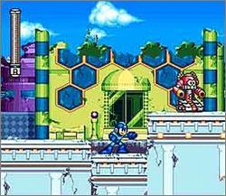 Pantallazo del juego online Mega Man 7 (Snes)