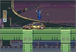 Pantallazo del juego online Mega Man X (Snes)