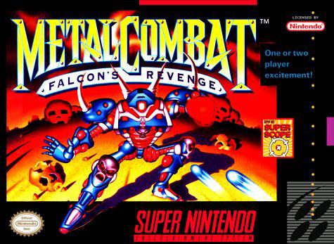 Carátula del juego Metal Combat Falcon's Revenge (Snes)