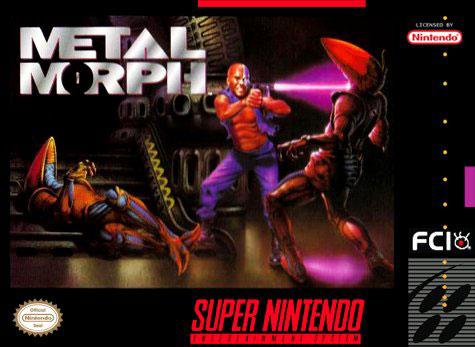 Carátula del juego Metal Morph (Snes)