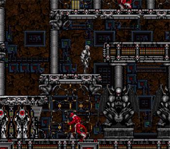 Pantallazo del juego online Metal Morph (Snes)