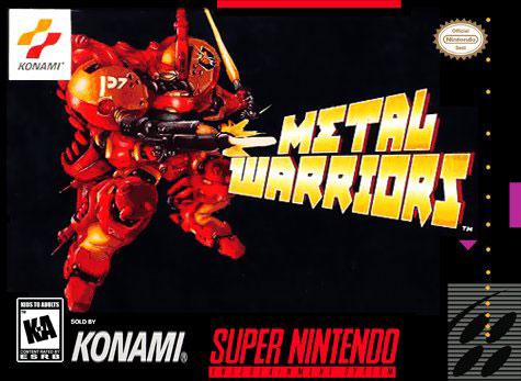 Carátula del juego Metal Warriors (Snes)