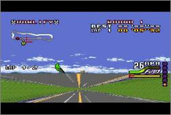 Pantallazo del juego online Michael Andretti's Indy Car Challenge (Snes)