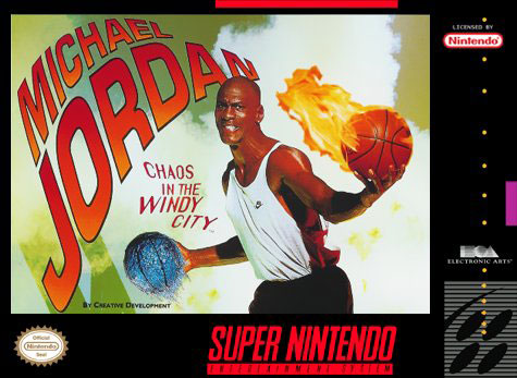 Carátula del juego Michael Jordan - Chaos in the Windy City (Snes)