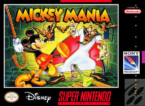 Portada de la descarga de Mickey Mania – The Timeless Adventures of Mickey Mouse